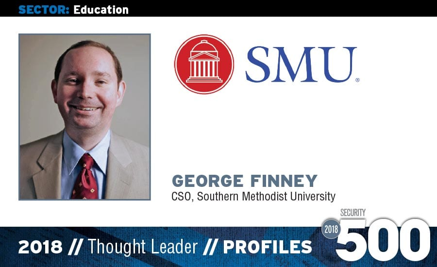 George Finney - Selected as a 2018 Security Magazine Thought Leader