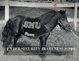 SMU OIT 2019 Calendar Cover