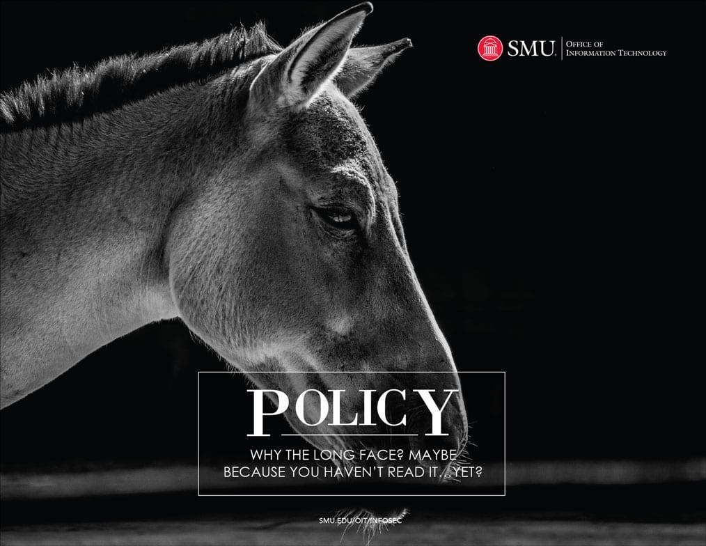 SMU OIT 2019 Calendar Policy