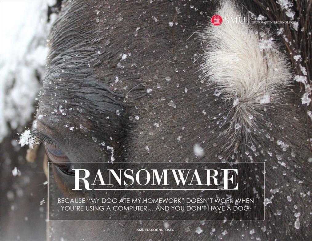 SMU OIT 2019 Calendar Ransomware