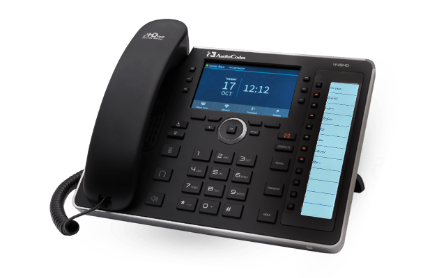 AudioCodes 445HD Telephone