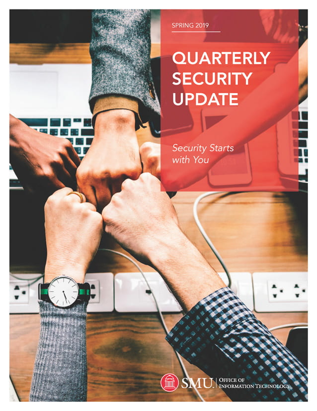 Winter 2019 Security Report Cover