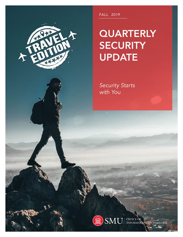 OIT Security Report (Fall 2019) cover