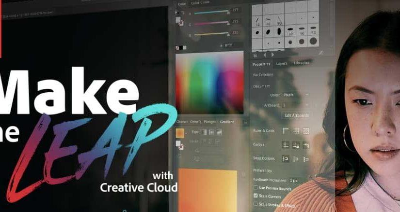 Adobe Make the Leap Webinar Banner