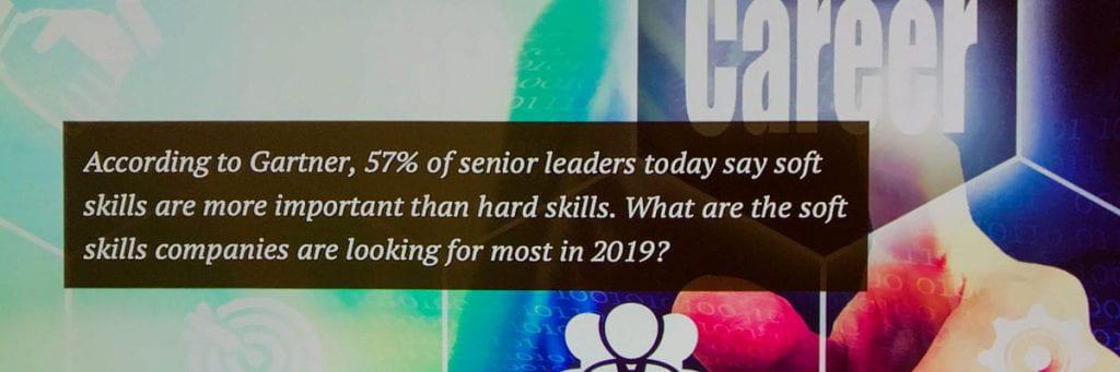 Gartner Quote on Soft Skills