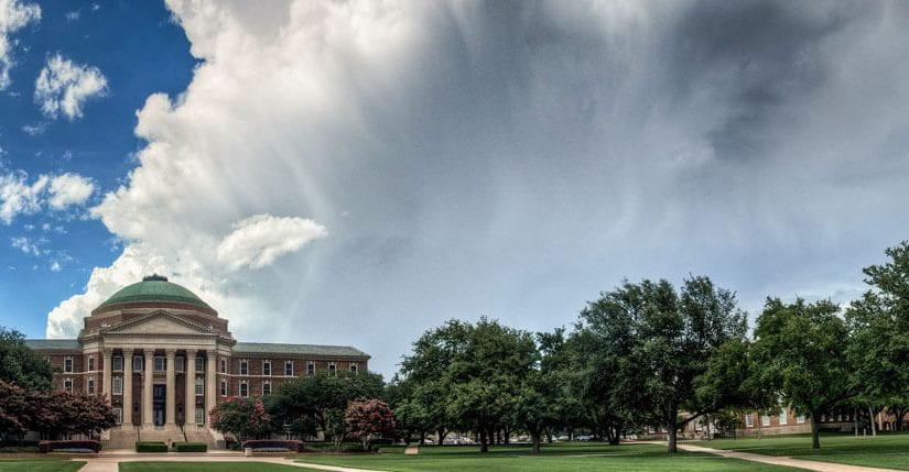 Clouds over SMU Campus