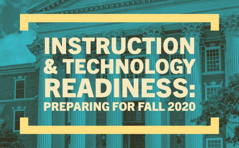 SMU Instruction & Technology Readiness: Preparing for Fall 2020