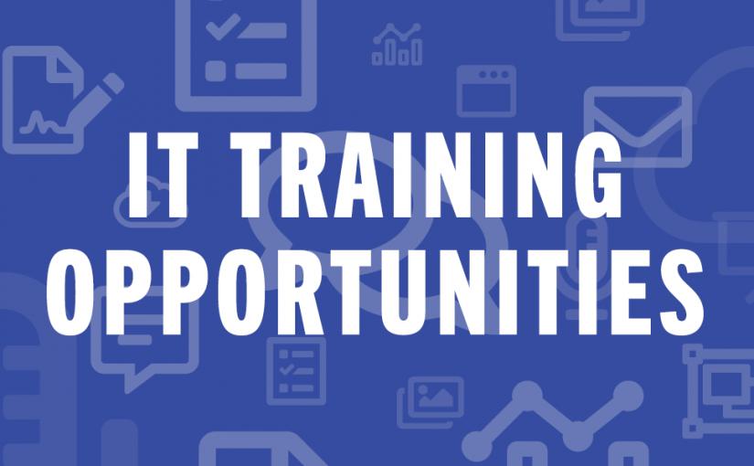 IT Training Opportunities