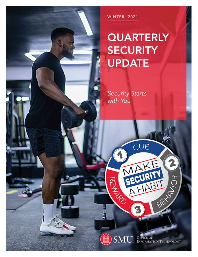 Cover of the OIT Quarterly Security Report
