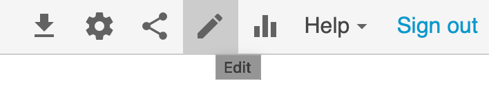 Panopto Edit Video menu