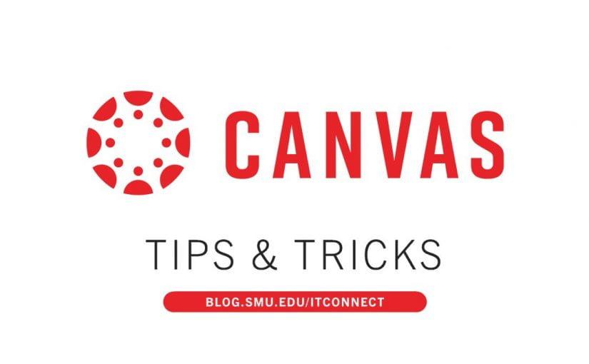 Canvas LMS Tips & Tricks
