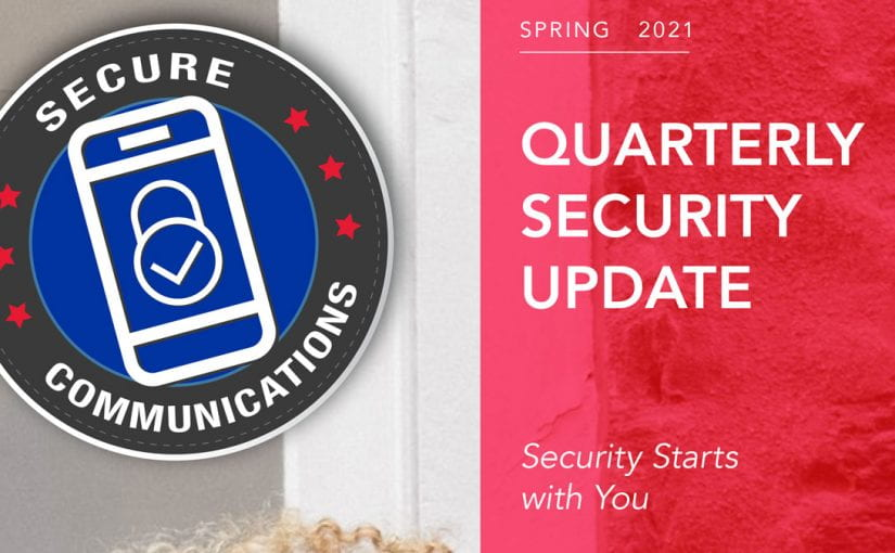 OIT Quarterly Security Update