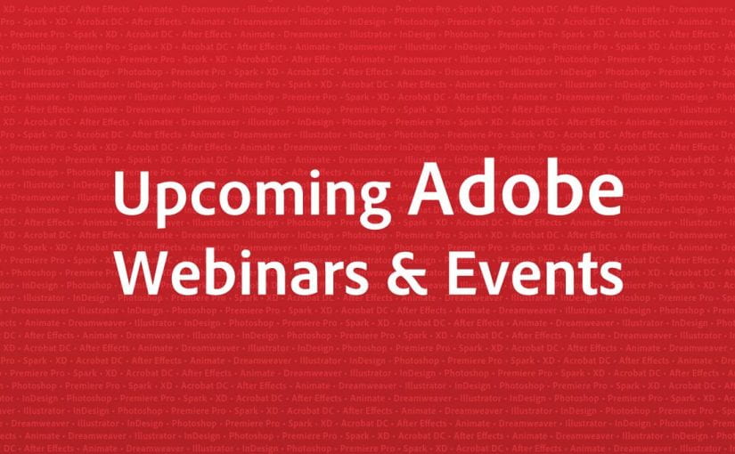 Upcoming Adobe Events