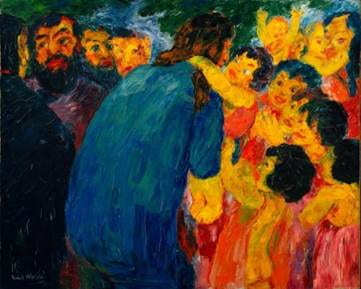 Emil Nolde: Christ Among the Children