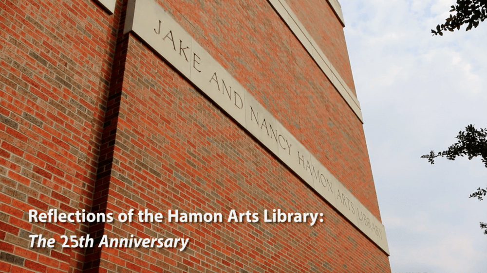 Watch: Reflections of the Hamon Arts Library