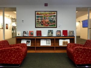 House of Alba book display