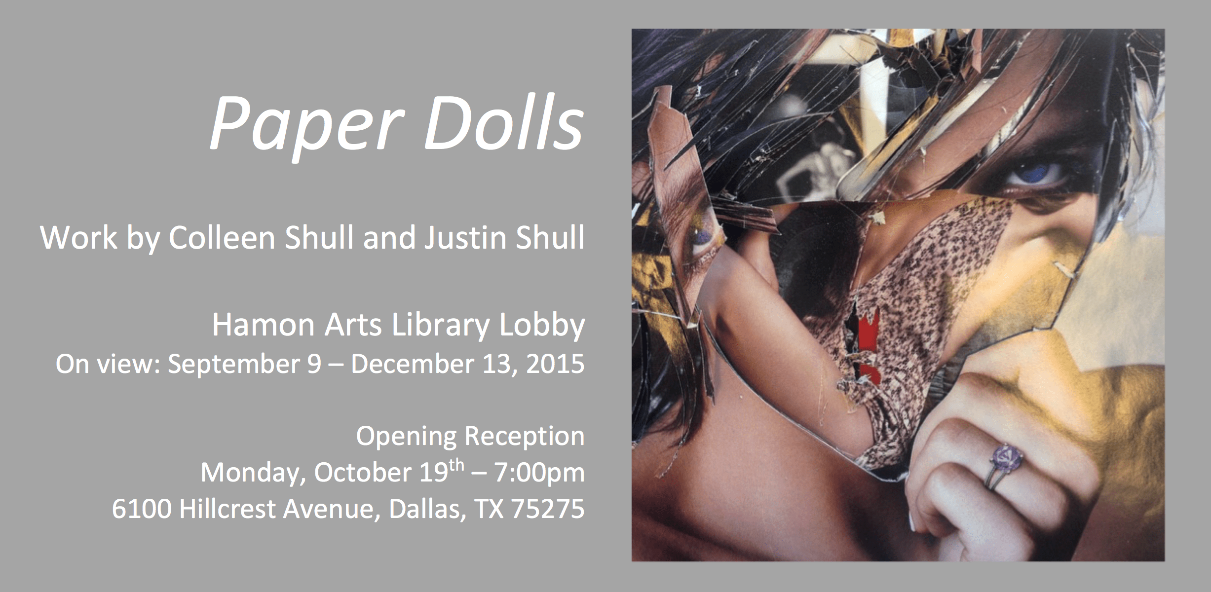 Paper Dolls Exhibition and Reception