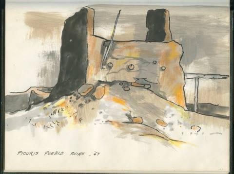Picuris Pueblo Ruins