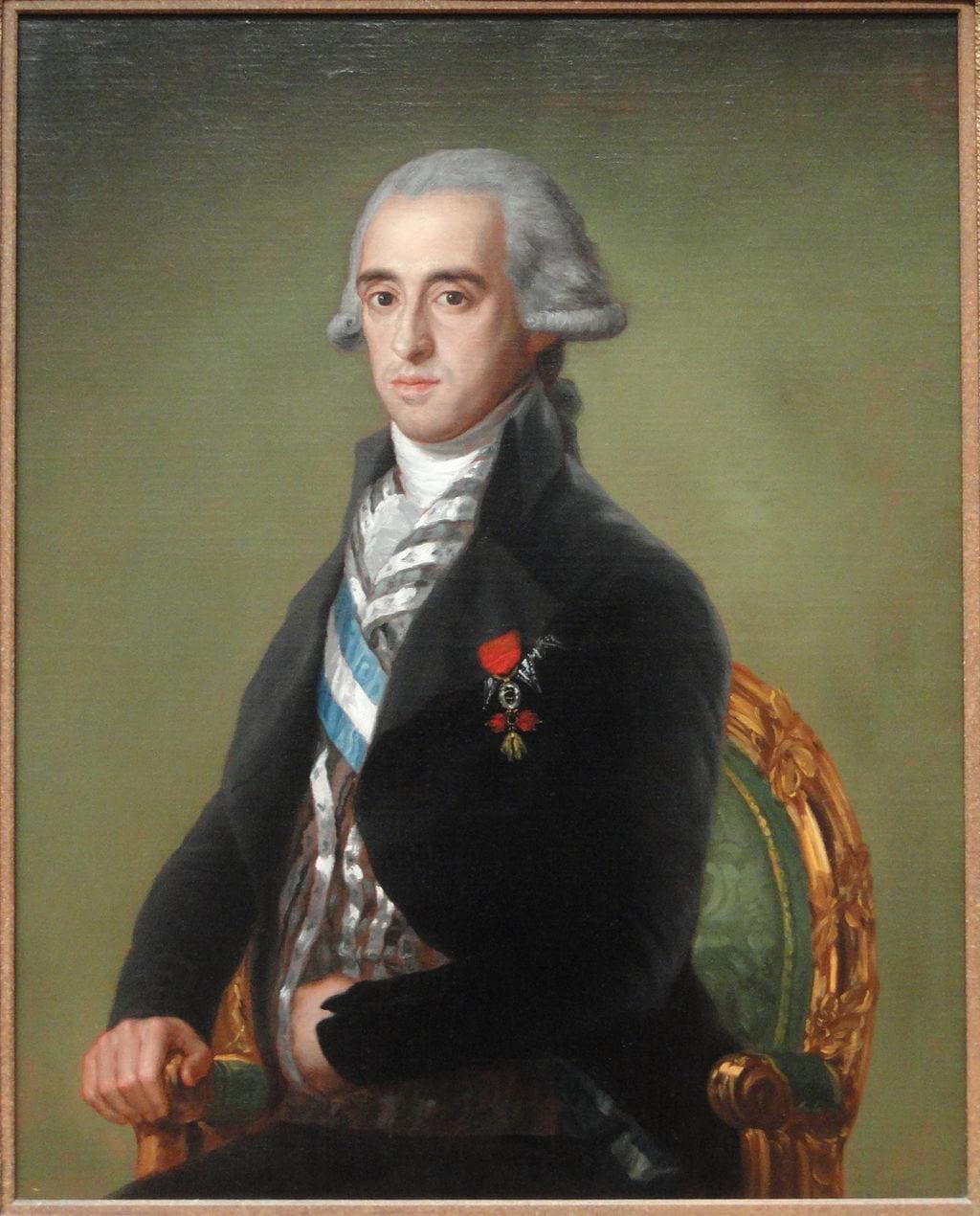 Francisco de Goya y Lucientes (Spanish, 1746 - 1828), Portrait of José Alvarez de Toledo, Duke of Alba, c. 1795, Wikimedia Commons