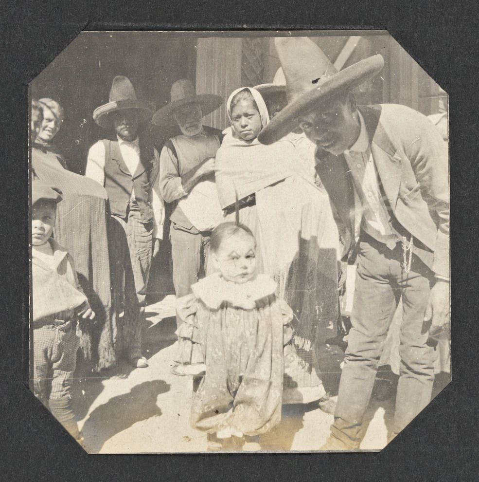 Young Child Dressed as a Clown