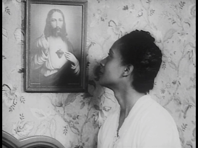 Still from The Blood of Jesus. G. William Jones Film & Video Collection, Hamon Arts Library.