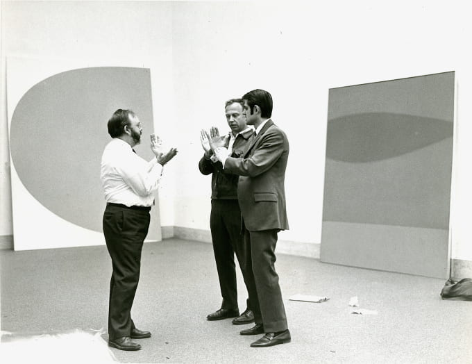 Ellsworth Kelly (1923-2015): American abstract artist