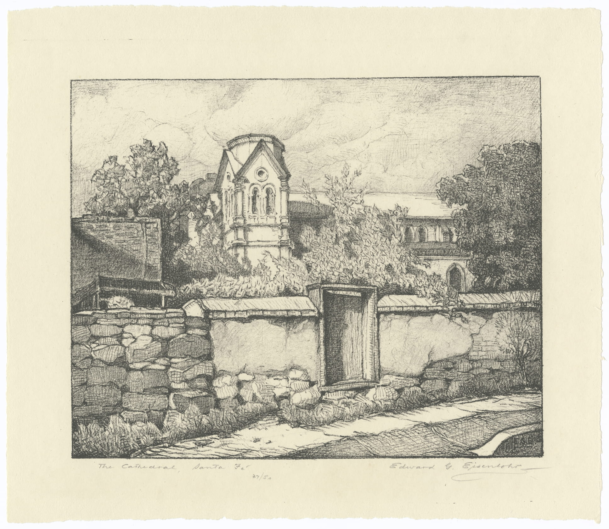 Collection Spotlight: Edward Gustav Eisenlohr art work and papers