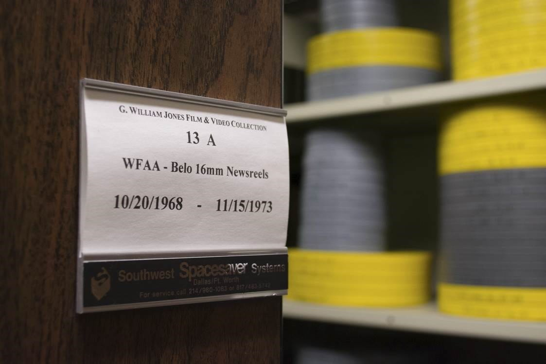 WFAA Newsfilm Collection: Look what I found this week!