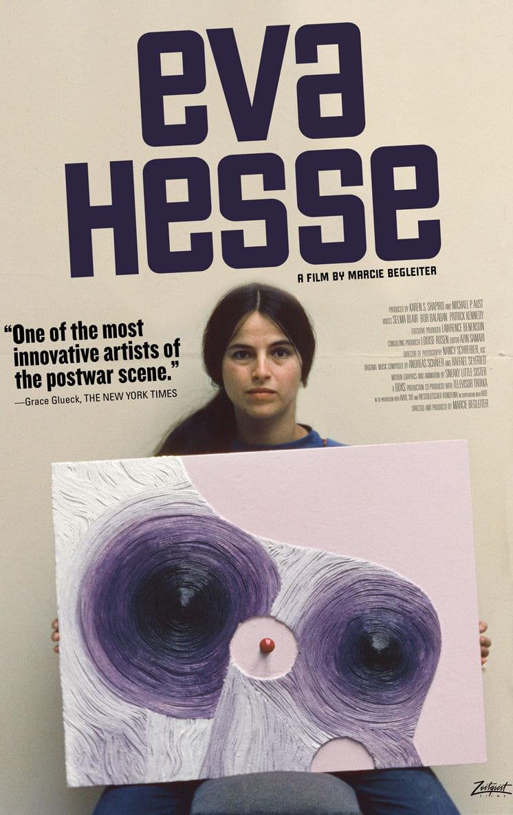 Eva Hesse documentary poster