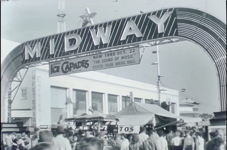 State Fair of Texas – a look back from the G. Williams Jones Film and Video Collection