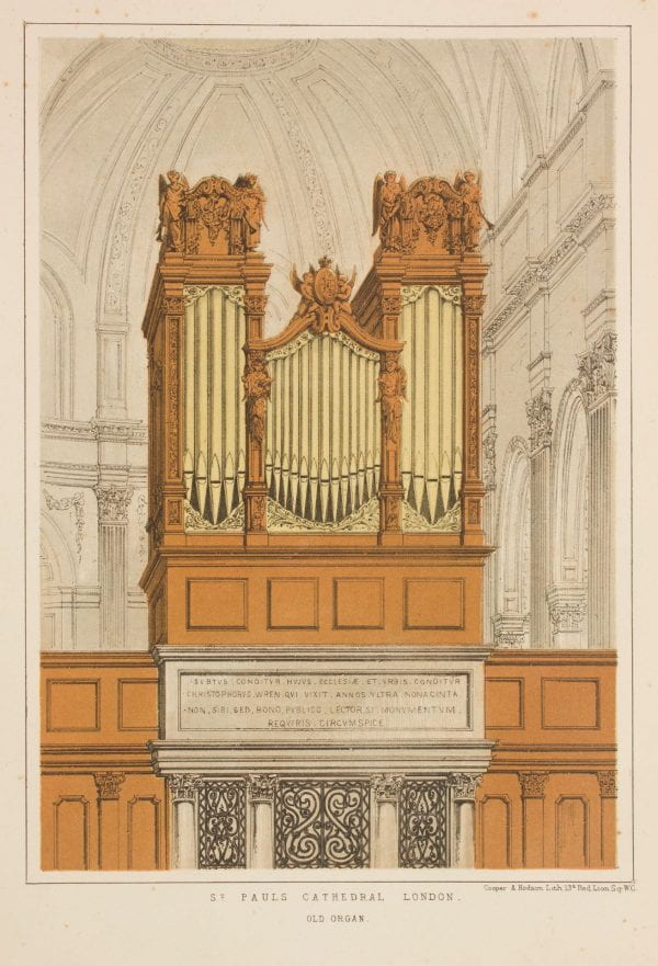 Hawn Gallery presents: Pipes on Paper: the Wallmann Collection of Books on the Organ opening July 15