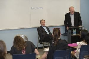 Dedman Psychology Faculty Hampson George W. Bush Visit
