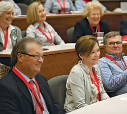 "At Inside SMU, alumni enjoy ""classes without quizzes"" led by SMU faculty."