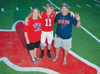 Parents Make Mustang Sports A Family Affair Smu Magazine