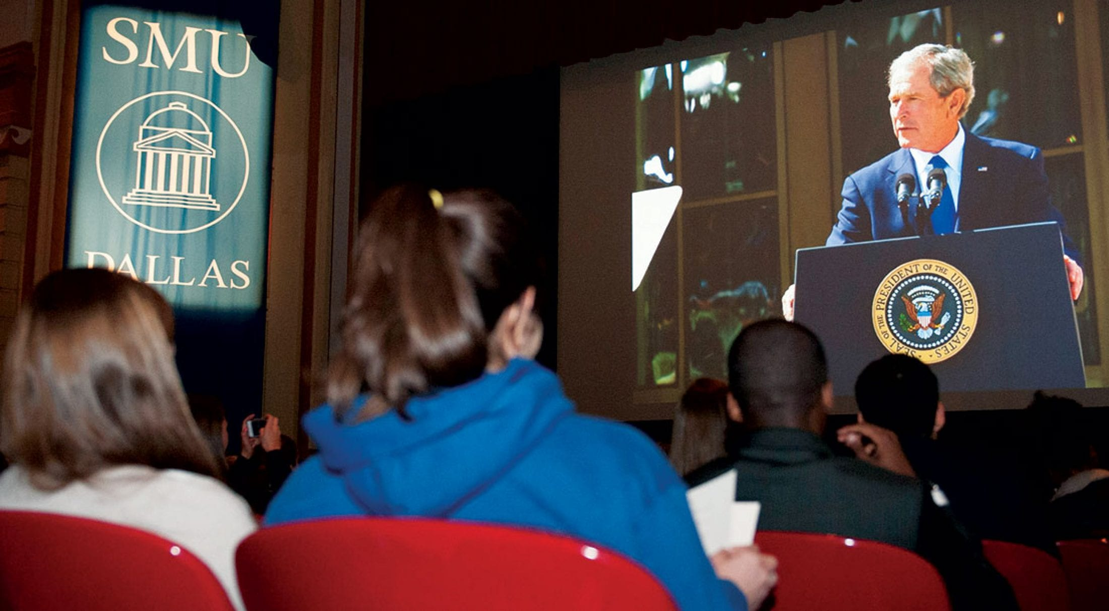 The Bush Presidential Center is a unique academic asset for SMU students.