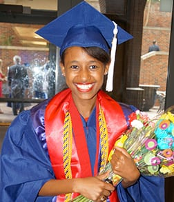 Roza Essaw '13 graduated from SMU in May