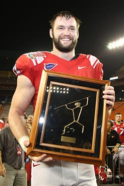 Margus Hunt '13 has signed with the Cincinatti Bengals.