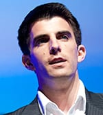 Kevin Lavelle '08, speaking at TEDxSMU last fall