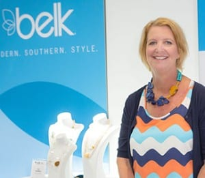 Jewelry designer Ali Howell '86 was among 13 winners of the Belk Southern Designers Showcase.