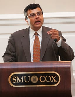 Hermang Desai, the Robert B. Cullum Professor of Accounting in the Cox School of Business.