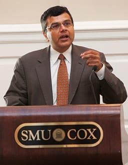 Hermang Desai, the Robert B. Cullum Professor of Accounting in the Cox School of Business.