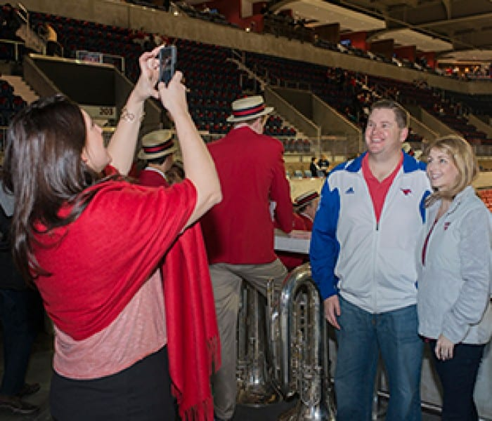 Renovated Moody Coliseum Reopens  For Commencement, Basketball Games