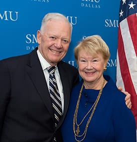Ray L. Hunt '65 and Nancy Ann Hunter Hunt '65