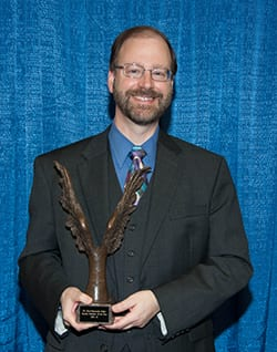 Kurt-Andrew Zeller '82, winner of Smith Award