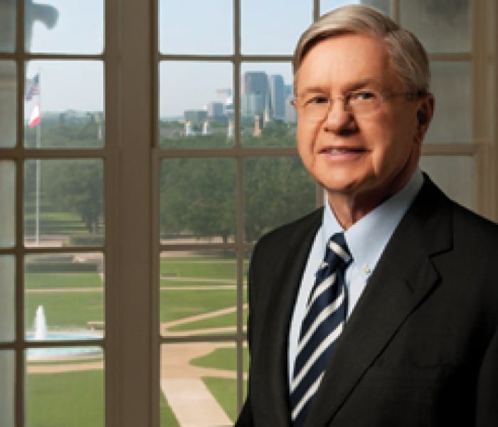 Michael M. Boone '63, '67 Re-elected Chair Of SMU Board Of Trustees