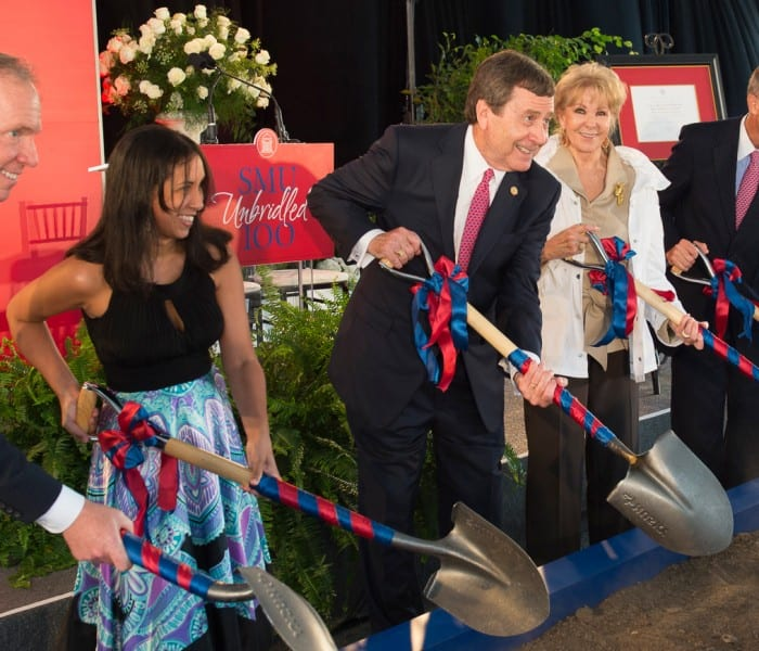 SMU Breaks Ground For New Harold Clark Simmons Hall