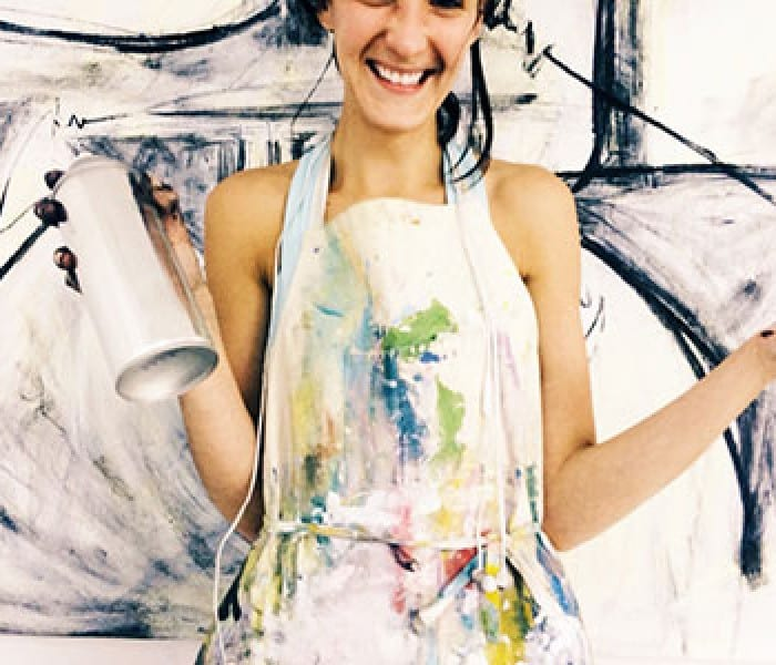 Artist Dorothy Shain '12 And The SMU Prof Who Turned Her World Upside Down