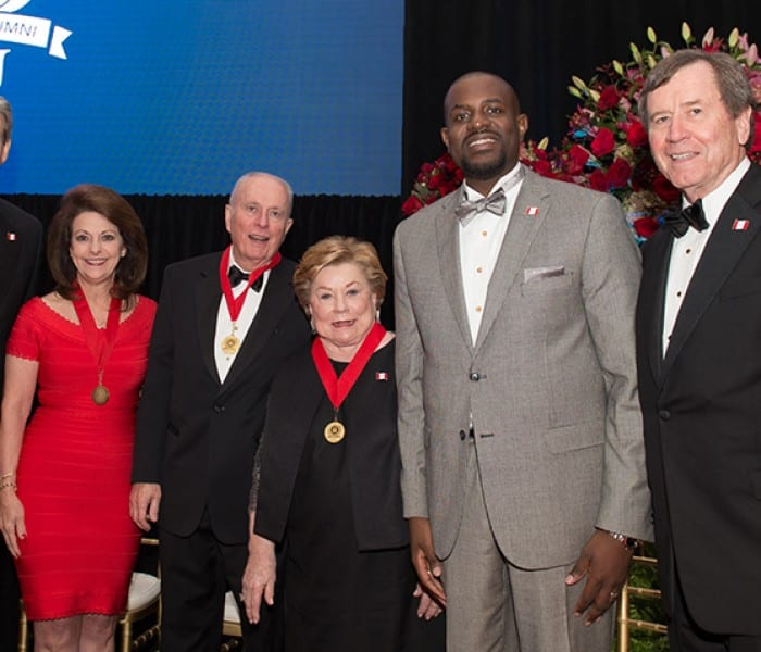 Homecoming Highlight: Distinguished Alumni, Emerging Leader Honored