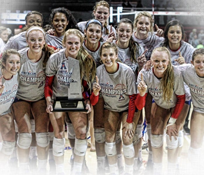 Congratulations! SMU Volleyball Captures AAC Crown
