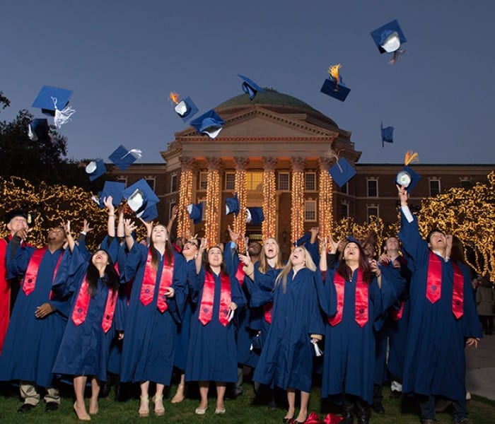 Hats Off To SMU's December Grads!